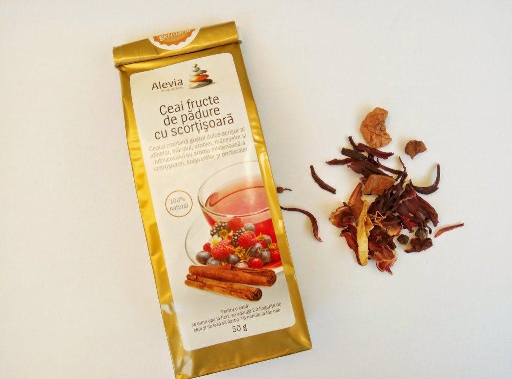 Review – Ceai cu fructe de padure si scortisoara de la Alevia
