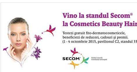 Testează produsele Secom la Cosmetics Beauty Hair!