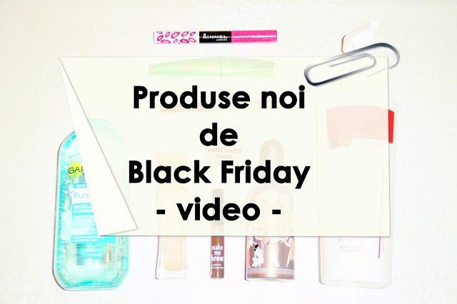 Recomandări pentru Black Friday – video