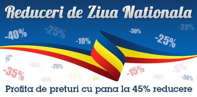 Reduceri de Ziua Națională a României