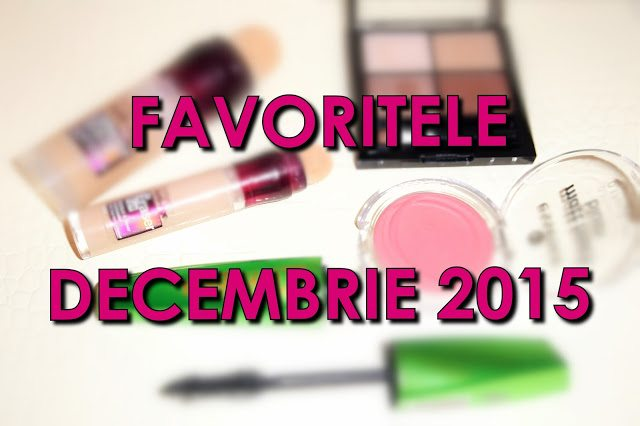 Favoritele lunii Decembrie 2015 – video