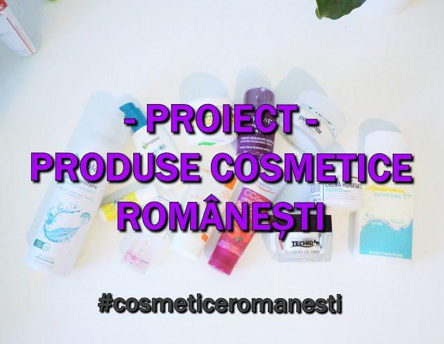 Proiect #cosmeticeromanesti