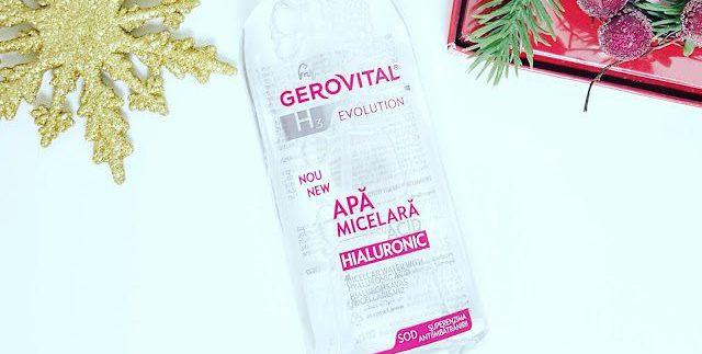 Apa micelară cu acid hialuronic Gerovital   părerea mea