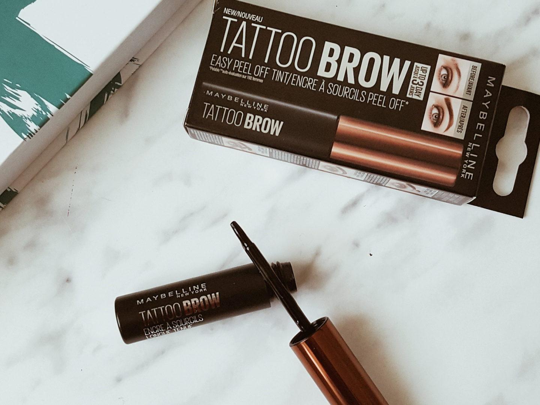 Brow Tattoo colorează sprâncenele pentru 3-5 zile