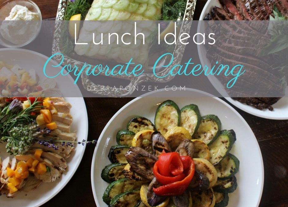 lunch ideas for corporate