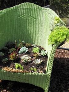 Debra Prinzing Planted Chair
