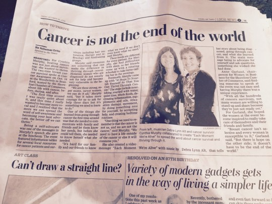 cancer not end of world