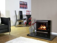 Celsi Purastove Glass 2 Electric Stove - Debrett Fires
