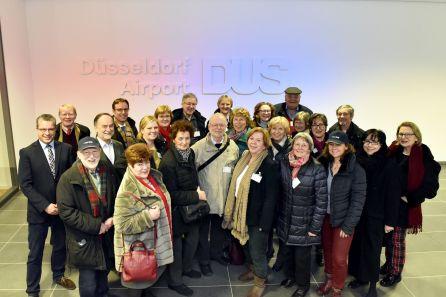 Düsseldorf Airport Tour am 1.2.2017