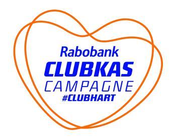 Wij doen mee aan de Rabobank Clubkas!