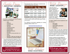 Sample Tri Fold Brochures Ideal Vistalist Co