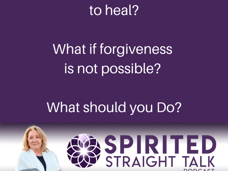 Is Forgiveness Always Essential for Healing?