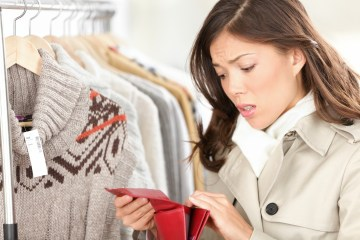 Empty Purse Or Wallet No Money For Shopping Concept Debtbusters
