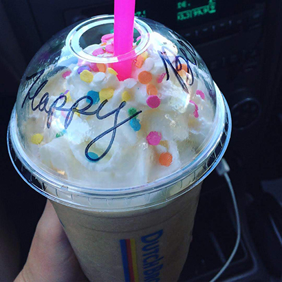 Dutch Bros Birthday Free Drink