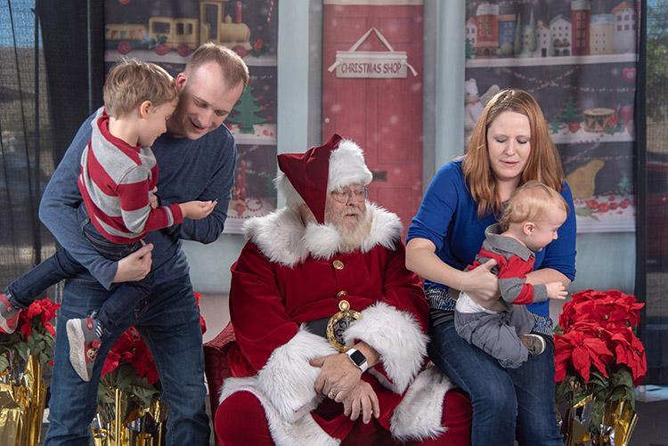 Debt Free Happens - Concerned Santa
