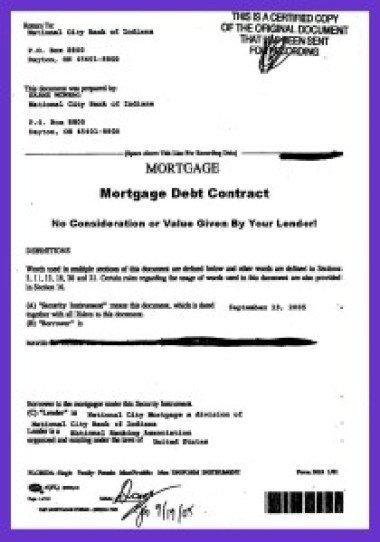 In Mortgage Debt Your Lender Stole Your Mortgage Note  Cancel