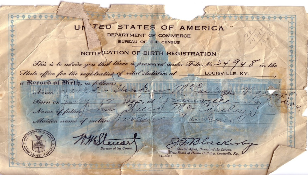 YOUR STRAWMAN ID or Birth Certificate – The Great Government MONEY and CREDIT SCAM