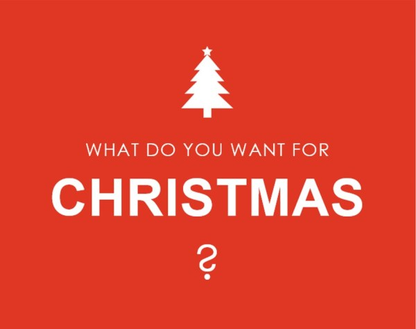 What do you want for Christmas this year de Burgh Group