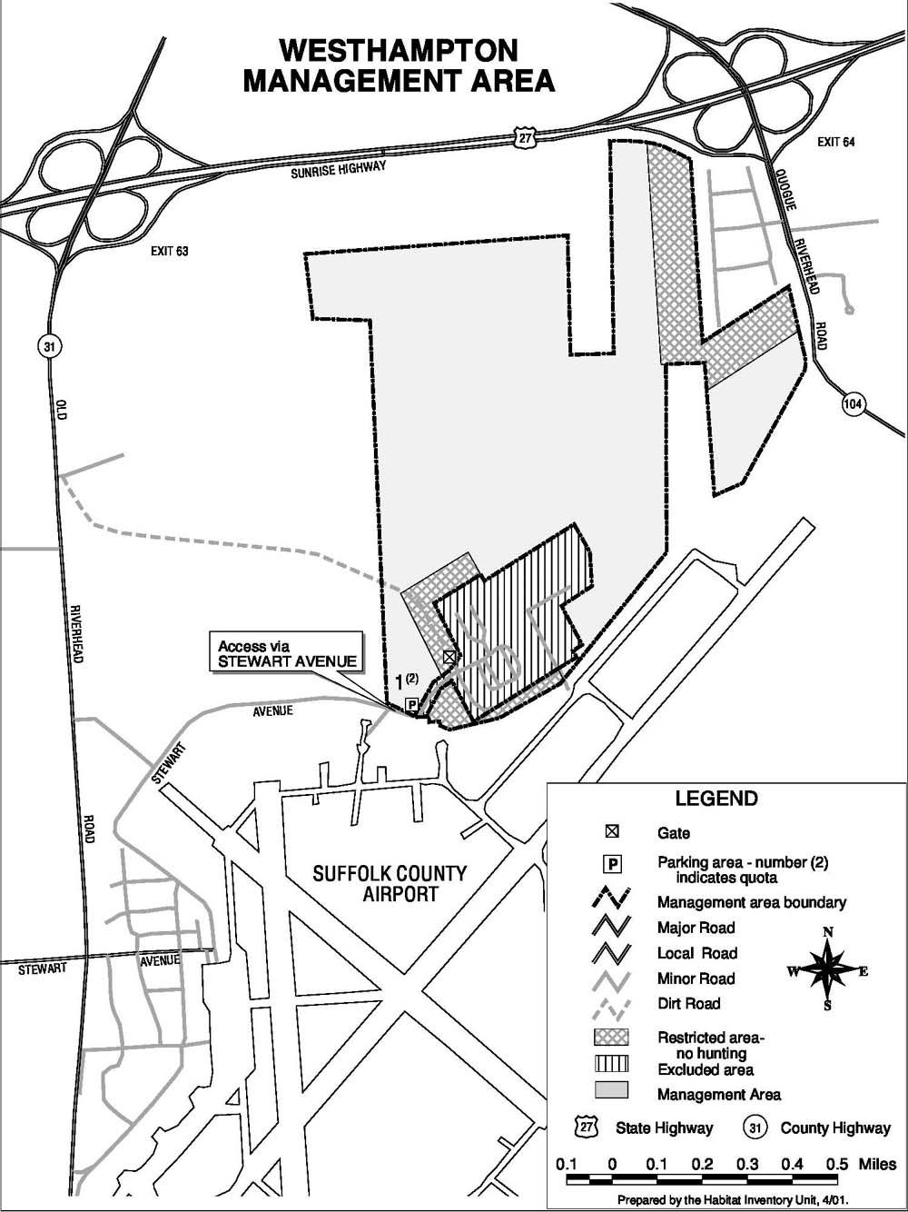 Westhampton Dwarf Pine Plains Preserve Cooperative Hunting