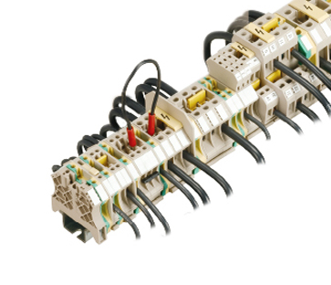 軌道螺絲型接線端子