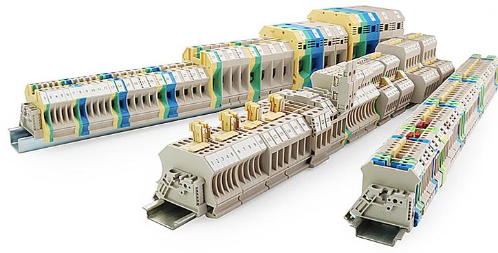進聯 軌道式接線端子-螺絲型