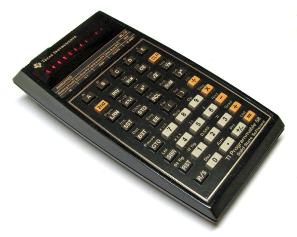Texas Instruments Programmable 58 The Vintage Technology