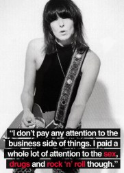 Chrissie Hynde quote