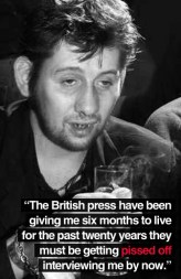 Shane MacGowan 2 quote