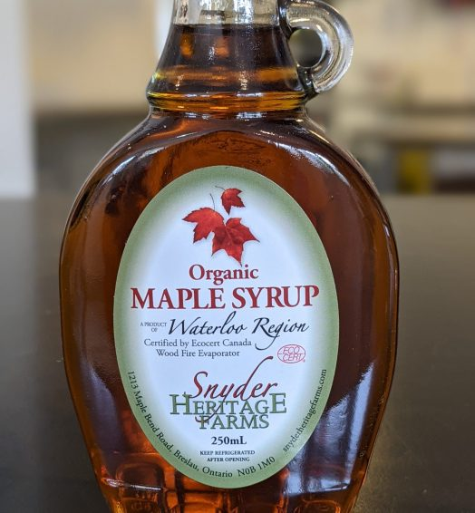Snyder's Heritage Farm Maple Syrup – 250mL