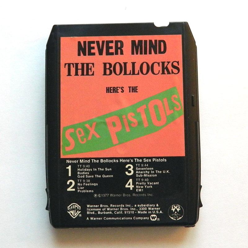 Vintage Sex Pistols 8 track tape