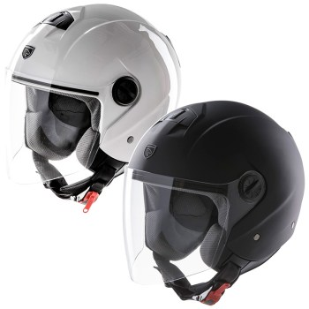 cascos cafe racer tipo jet