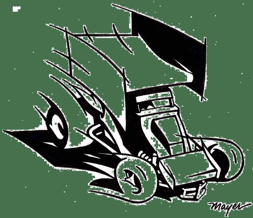 Sprint Car Decal