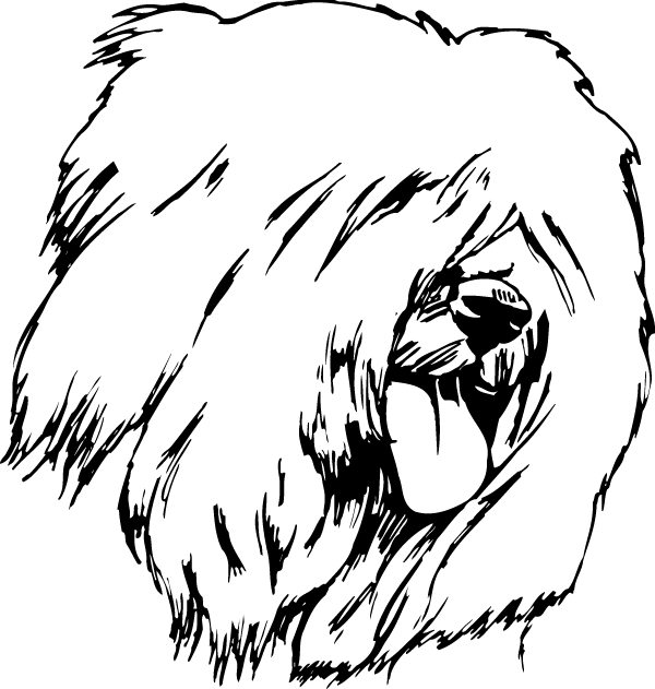 Old English Sheepdog Decal