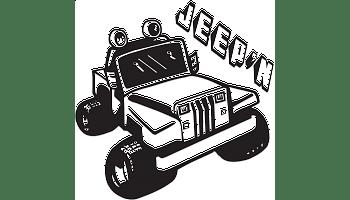 Jeep N decal