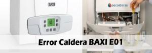 Error Caldera BAXI E01