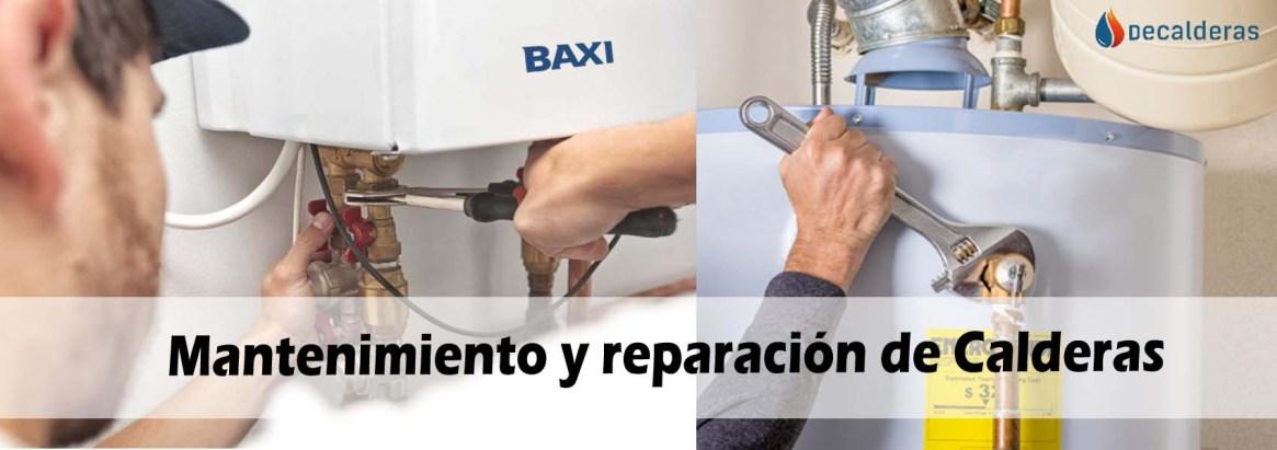 Mantenimiento y reparación de Calderas