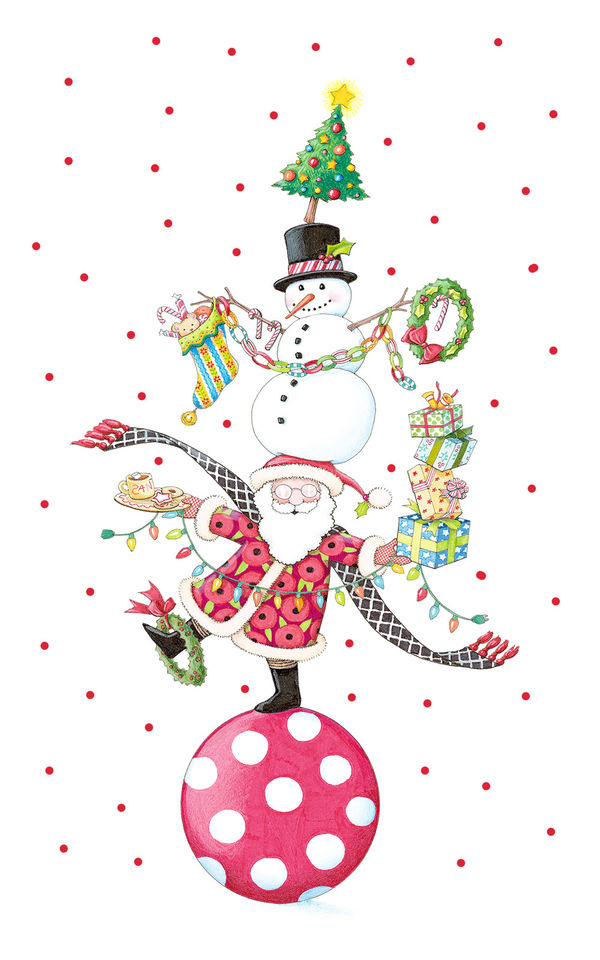 Girl Live Wallpaper Iphone Christmas Circus By Mary Engelbreit Decalgirl
