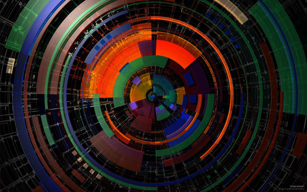 Live Fall Wallpaper For Pc Color Wheel By Digital Blasphemy Decalgirl