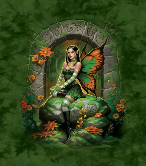 Jade Fairy By James Ryman DecalGirl