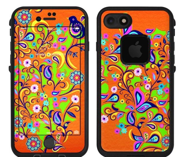 Lifeproof Iphone 7 Fre Case Skin Orange Squirt