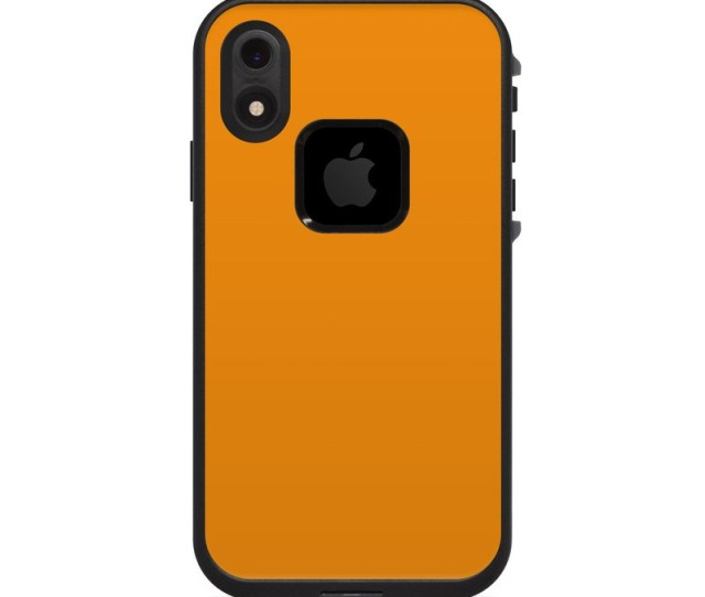 Lifeproof Iphone Xr Fre Case Skin Solid State Orange
