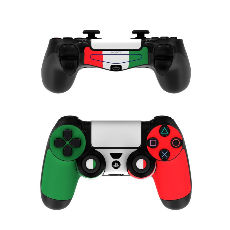 Miami Hurricanes Iphone Wallpaper Sony Ps4 Controller Skin Italian Flag By Flags Decalgirl