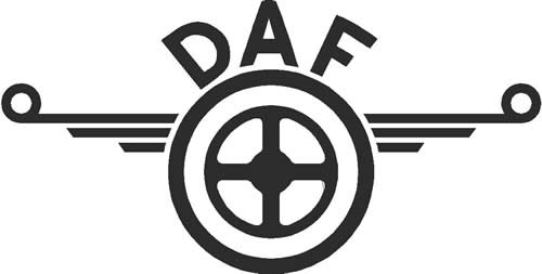 Daf Old Logo : Decals and Stickers, The Home of Quality