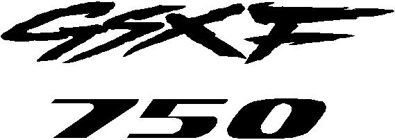 Suzuki GSXF 750 : Decals and Stickers, The Home of Quality