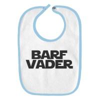 Barf Vader Star Wars Funny Parody Infant Baby Bib