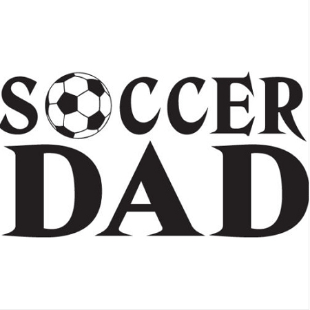 Soccer Dad Vinyl Decal ** 4 Sizes