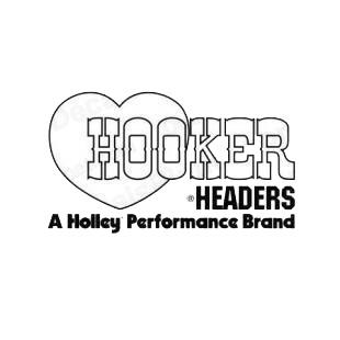 Hooker headers a holley performance brand performance logo