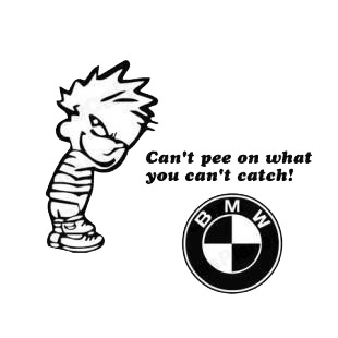 Funny Sticker and Meme: Funny Chevy Logo Warning Sticker