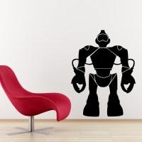 wall decal robot
