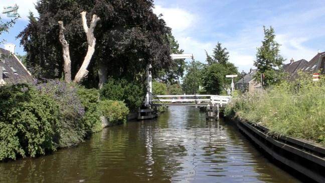Ophaalbrug Broek in Waterland - De Canicula